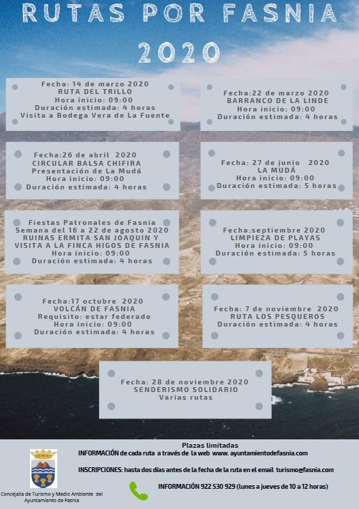 Rutas por Fasnia 2020